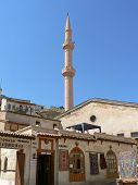 Minaret Over Mosque