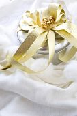 Shiny Silver Gift Box