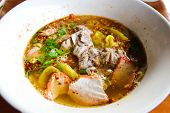 Tom Yum Noodle ,thai Food.