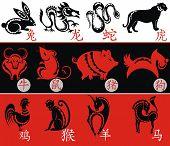 picture of chinese zodiac animals  - Chinese Zodiac - JPG