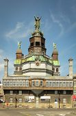 MONTREAL, CANADA, AUGUST 20 2014:  Notre Dame du Bon Secours chapel is one of the oldest churches in Montreal, it was built in 1771 in Montreal, Canada.