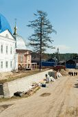 Reconstruction in Ioanno-Vvedensky monastery