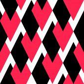 Seamless Rhombus Background. Vector Geometric Texture