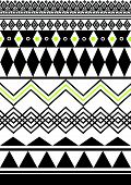 Tribal,ethnic pattern