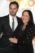 LOS ANGELES - DEC 7:  Ryan Eggold, Karen Benik at the