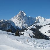 Beautiful View From The Eggli Ski Area