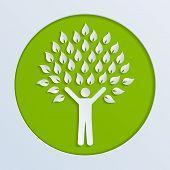 paper human tree