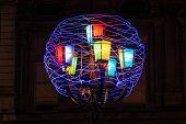 Skein of bright yarn, Turin