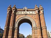 Arch Of Triumph, Barcelona
