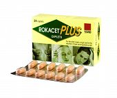 Pack Of 24 Caplets Rokacet Plus With 1 Blister