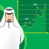 Arab At The Stock Market