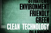 Clean Technology Core Principles as a Concept