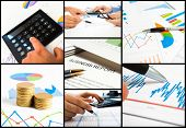 Composition of business related images