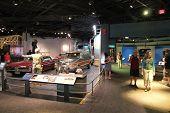 Museum Visitors In Washington