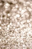 Sepia Gold Bokeh Background