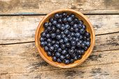 Natural Healthy Berry Background