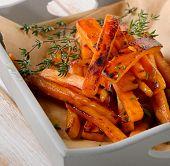 Sweet Potato Fries With  Herbs