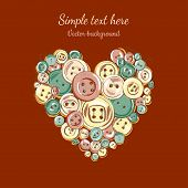 heart of the sweing buttons