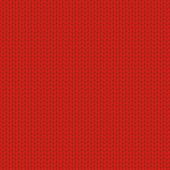 Knitted wool red background, vector illustration