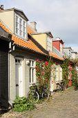 The mill lane in Aarhus
