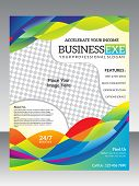 Abstract Colorful Business Flyer Template