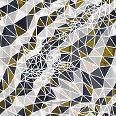 Vector abstract seamless background from triangles.