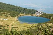 View Of  Lake Bezbog In National Park Pirin ,bulgaria