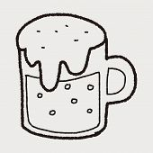 pic of drawing beer  - Beer Doodle Drawing - JPG