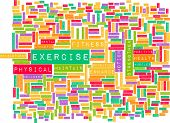 stock photo of health center  - Exercise Concept for Weight Loss and Health - JPG