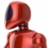 stock photo of cyborg  - Cyborg futuristic bot robot sci - JPG