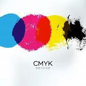 image of colorful banner  - Vector CMYK drawing identity - JPG