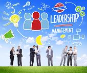 image of idealistic  - Diversity Business People Leadership Management Discussion Concept - JPG