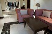 Sofa In The Corridor