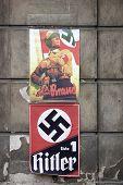 stock photo of hitler  - Nazi propaganda - JPG