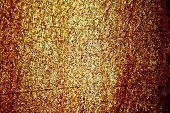 Golden metallic texture