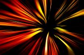 Abstract colorful zooming background