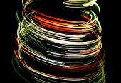 Colorful twirl lined background