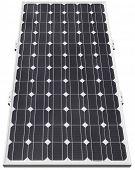 Solar de células fotovoltaicas aisladas con trazado de recorte
