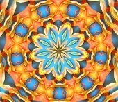 digitally created mandala very suitable as a background
