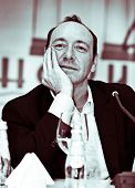 Yalta - 25 September: actor Kevin Spacey visits opening of theater of Chechov on September, 25, 2008