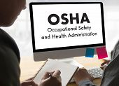 Occupational Safety And Health Administration Osha Business Team Work poster