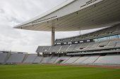 Empty Olympic Stadium