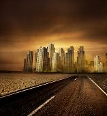 Umweltverschmutzung, globale Erwärmung und der Weg zur Großstadt