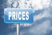 prices for online internet web shop product order, price road sign, 3D, illustration poster