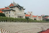 Xiamen University in Fujian province, China. the university was founded by the famous patriot Chen Jia-Geng in 1921.