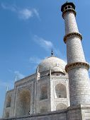 stock photo of mumtaj  - the taj mahal was built at agra - JPG