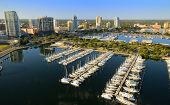 Aerial view of St. Petersburg, Florida