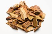 picture of mesquite  - Mesquite chips add flavor to barbecue or barbeque - JPG