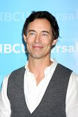 LOS ANGELES - JAN 6:  Tom Cavanagh arrives at the NBC Universal All-Star Winter TCA Party at The Ath