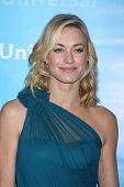 LOS ANGELES - JAN 6:  Yvonne Strahovski arrives at the NBC Universal All-Star Winter TCA Party at Th